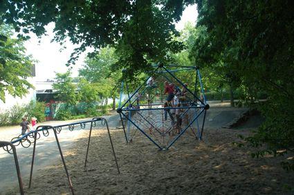 Spielplatz der Wichlinghofer Grundschule.
